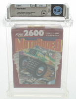 "1990 ""MotoRodeo"" Atari 2600 Video Game (WATA 9.2) at PristineAuction.com"