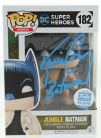 "Kevin Conroy Signed LE ""DC Super Heroes"" Jungle Batman Funko Pop #182 Vinyl Figure Inscribed ""Batman"" (PSA Hologram) at PristineAuction.com"