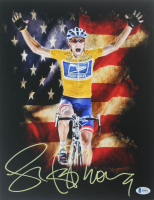 Lance Armstrong Signed 11x14 Photo (Beckett COA) at PristineAuction.com