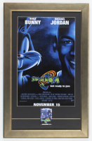 """""""Space Jam"""" 16x25 Custom Framed Photo Display with Pre Movie Release Pin at PristineAuction.com"""