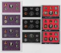 Lot of (10) United States Proof Sets With 1971, 1982, 1983, 1985, 1988,  & 1992 at PristineAuction.com