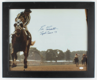 "Ron Turcotte Signed 19x23 Custom Framed Photo Display Inscribed ""Triple Crown 73"" (JSA Hologram) at PristineAuction.com"