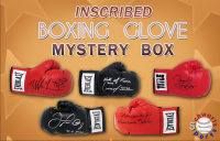 Schwartz Sports Boxing Superstars Signed & INSCRIBED Boxing Glove Mystery Box - Series 5 (Limited to 75) at PristineAuction.com