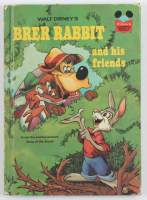 """1973 Retired Walt Disney's """"Brer Rabbit and His Friends"""" Hardcover Book at PristineAuction.com"""