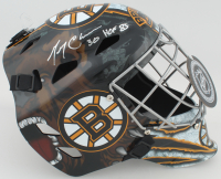 "Gerry Cheevers Signed Bruins Full-Size Hockey Goalie Mask Inscribed ""HOF 85"" (Schwartz COA) at PristineAuction.com"