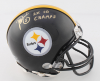 """Jeff Reed Signed Steelers Mini Helmet Inscribed """"2x SB Champs"""" (TSE COA) at PristineAuction.com"""
