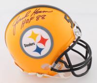 "Jack Ham Signed Steelers Mini Helmet Inscribed ""HOF 88"" (Beckett COA) at PristineAuction.com"