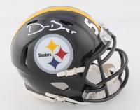 Devin Bush Jr. Signed Steelers Speed Mini Helmet (TSE COA) at PristineAuction.com