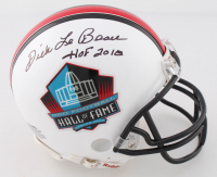 "Dick LeBeau Signed Hall of Fame Logo Mini Helmet Inscribed ""HOF 2010"" (Beckett COA) at PristineAuction.com"