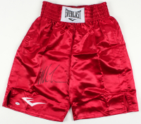 Mike Tyson Signed Everlast Boxing Shorts (PSA COA) at PristineAuction.com