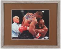 Mike Tyson Signed 12x15 Custom Framed Photo (JSA COA) at PristineAuction.com