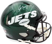 Brett Favre Signed Jets Full-Size Authentic On-Field Speed Helmet (Radkte COA) at PristineAuction.com