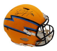 Shawne Merriman Signed Chargers Full-Size Authentic On-Field AMP Alternate Speed Helmet (Radtke COA) at PristineAuction.com