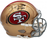 Jerry Rice Signed 49ers Full-Size Authentic On-Field Speed Helmet (Radtke COA) at PristineAuction.com