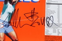 "Lot of (3) Michelle Akers Signed Wheaties Cereal Boxes Inscribed ""1999 World Champs"" & ""Be Strong & Courageous"" (Beckett COA) at PristineAuction.com"