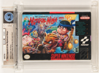 "1992 ""The Legend of the Mystical Ninja"" SNES Video Game (WATA 6.5) at PristineAuction.com"