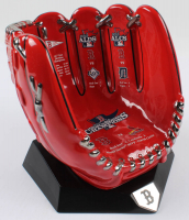 Danbury Mint Full Size Ceramic Red Sox World Series Commemorative Glove at PristineAuction.com