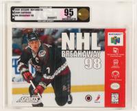 "1998 ""NHL Breakaway 98"" Nintendo 64 Video Game (VGA 95) at PristineAuction.com"