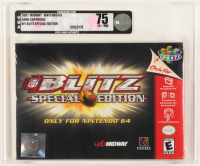 "2001 ""NFL Blitz: Special Edition"" Nintendo 64 Video Game (VGA 75) at PristineAuction.com"