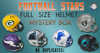 Schwartz Sports Football Superstar Signed Full-Size Football Helmet Mystery Box – Series 12 (Limited to 50) – NO DUPLICATES!!! at PristineAuction.com
