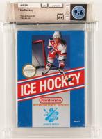 "1988 ""Ice Hockey"" NES Video Game (WATA 9.6) at PristineAuction.com"