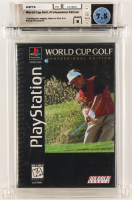 "1996 ""World Cup Golf: Professional Edition"" Sony Playstation Video Game (WATA 7.5) at PristineAuction.com"