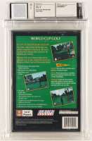 """1996 """"World Cup Golf: Professional Edition"""" Sony Playstation Video Game (WATA 7.5) at PristineAuction.com"""