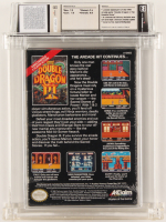 """1991 """"Double Dragon III: The Sacred Stones"""" NES Video Game (WATA 8.0) at PristineAuction.com"""