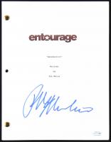 "Ralph Macchio Signed ""Entourage"" Full Script (AutographCOA COA) at PristineAuction.com"