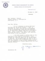 J. Edgar Hoover Signed 1962 FBI Letter (Beckett COA) at PristineAuction.com
