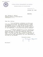 J. Edgar Hoover Signed 1963 FBI Letter (Beckett COA) at PristineAuction.com