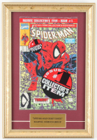 """Vintage 1990 """"The Amazing Spider-Man: Torment Part 1"""" Issue #1 11x16 Custom Framed Marvel Comic Book at PristineAuction.com"""