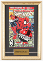 "Vintage 1990 ""The Amazing Spider-Man: Torment Part 1"" 11x16 Custom Framed Factory Sealed First Issue Marvel Comic Book at PristineAuction.com"