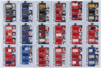 Complete Set of (18) 2013-14 ITG Superlative The First Six Lord Stanley's Mug Triple Jerseys Hockey Cards with Phil Esposito, Patrick Roy, Bobby Hull at PristineAuction.com