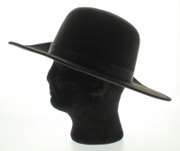The Undertaker Signed Wide Brim Open Crown Hat (PSA COA) at PristineAuction.com
