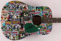 "Stan Lee Signed 41"" Huntington Acoustic Guitar (PSA COA) at PristineAuction.com"