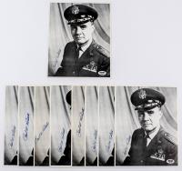 Lot of (9) Paul Tibbets Signed 8x10 Photos (PSA COA) at PristineAuction.com