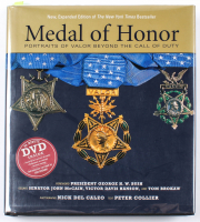 """""""Medal of Honor: Portraits of Valor Beyond the Call of Duty"""" Hard-Cover Book Signed by (19) with Bruce Crandall, Donald """"Doc"""" Ballard, Robert Ingram, Robert Modrzewski (PSA LOA) at PristineAuction.com"""