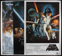 "Lot of (3) 27.5x40 ""Star Wars"" Posters at PristineAuction.com"