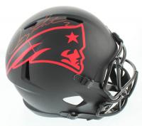 Doug Flutie Signed Patriots Full-Size Eclipse Alternate Speed Helmet (Beckett COA) at PristineAuction.com