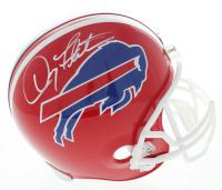 Doug Flutie Signed Bills Full-Size Helmet (Beckett COA) at PristineAuction.com
