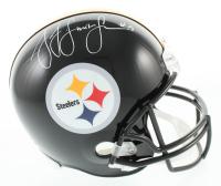JuJu Smith-Schuster Signed Steelers Full-Size Helmet (JSA COA) at PristineAuction.com