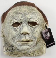 "Nick Castle Signed ""Halloween"" Michael Myers Mask Inscribed ""Shape"" (Radtke COA) at PristineAuction.com"