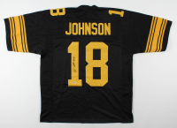 Diontae Johnson Signed Jersey (Beckett COA) at PristineAuction.com