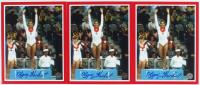 Lot of (3) Olga Korbut Signed Team USSR 8x10 Photos (Tracy Stallard Hologram) at PristineAuction.com