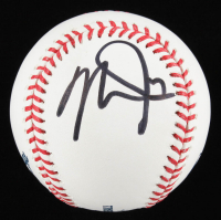 Mike Trout OML Baseball (PSA LOA) at PristineAuction.com