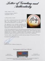 Mike Trout OML Baseball (PSA LOA) at PristineAuction.com