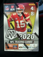 2020 Panini Mosaic Football Blaster Box with (8) Packs at PristineAuction.com
