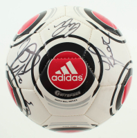2010 A.C. Milan Soccer Ball Team-Signed by (16) with Ronaldinho, Dida, Clarence Seedorf, Marek Jankulovski (Beckett LOA) at PristineAuction.com