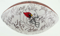 1999 Arizona Cardinals Logo Football Team-Signed by (60) with Frank Sanders, Scott Player, Kwamie Lassiter, Jake Plummer, Pat Tillman (Beckett LOA) at PristineAuction.com